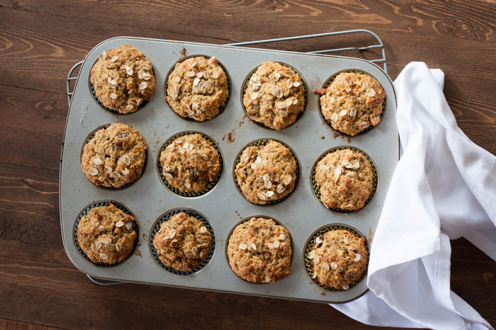 Spice Carrot Orange Muffin
